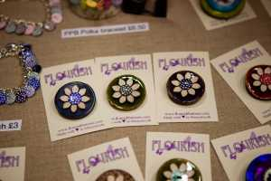 Flourish buttons
